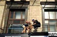 Під час заходів до Дня Незалежності в Києві поліція затримала трьох осіб
