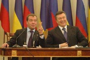 Янукович: у нас идет постоянный диалог с Россией