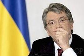 Ющенко зекономив на прес-центрі і ДВК