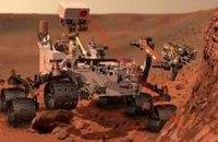 Марсоход впервые покатался по Марсу