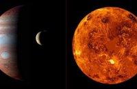 Уночі можна буде побачити злиття Юпітера і Венери