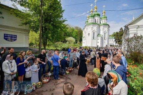 В Пасхальных мероприятиях приняли участие 7 млн украинцев