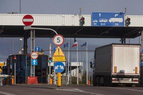 Украина открывает все пункты пропуска на границе с Польшей с 23 июня