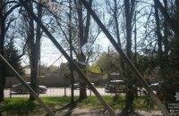 Хулиганы в Днепре обстреляли поликлинику