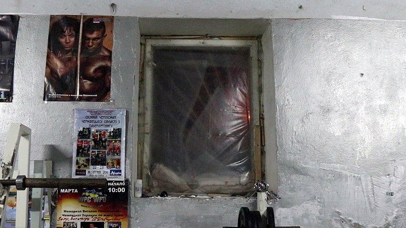 Зал без окна