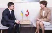 Президенти України і Швейцарії відвідають Донбас