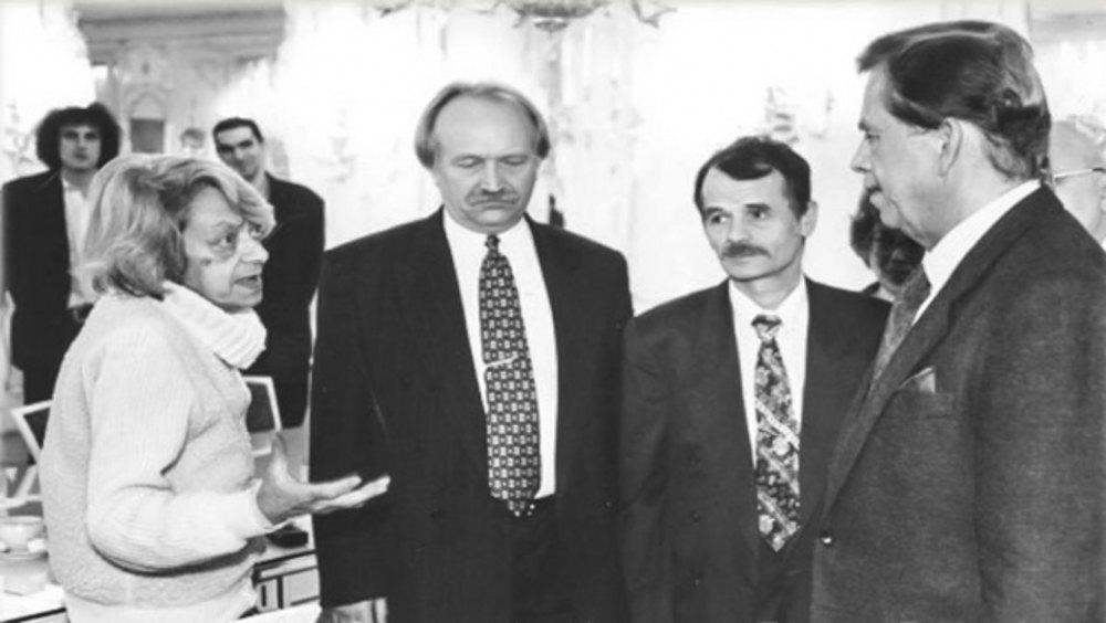 Лариса Богораз, В'ячеслав Чорновіл, Мустафа Джемілєв, Вацлав Гавел.