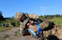Один военный получил ранения на Донбассе