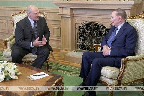 У Мінську розпочалася зустріч Кучми і Лукашенка