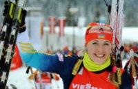 Юлия Джима выиграла золото на чемпионате Европы по биатлону