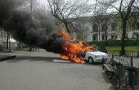 Киевского поджигателя машин посадили на пять лет