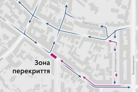 С24августа вКиеве часть улицы Ярославов Вал будет пешеходной— КГГА