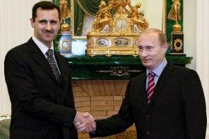 FT: Башар Асад відкинув прохання Путіна піти у відставку (оновлено)