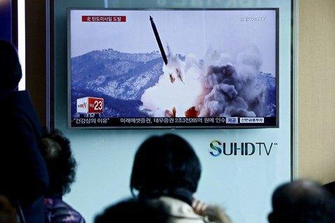 КНДР запустила балістичну ракету з підводного човна