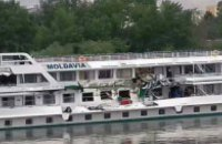 В Угорщині на Дунаї зіткнулися два українські теплоходи