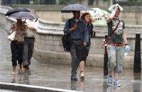 В воскресенье в Киеве местами кратковременный дождь
