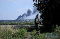 На Донбассе с начала суток ранен один украинский военный
