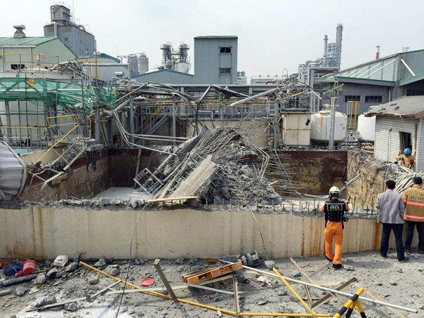 Південна Корея, хімзавод, вибух