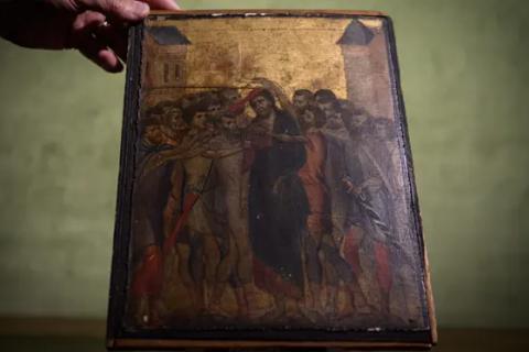 Знайдену на кухні літньої француженки картину Чімабуе продали за рекордні 24 млн євро.