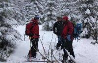 На Закарпатье во время катания на лыжах заблудился турист