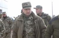 Турчинов исключил, что в АТО будут отправлять неподготовленных солдат