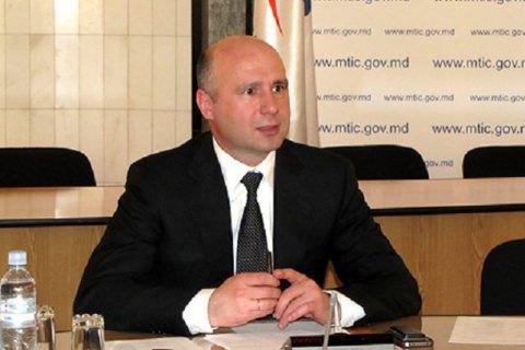 Порошенко зустрівся з прем'єром Молдови на кордоні