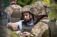 Більшість українців підтримують мирні зусилля Зеленського, - опитування