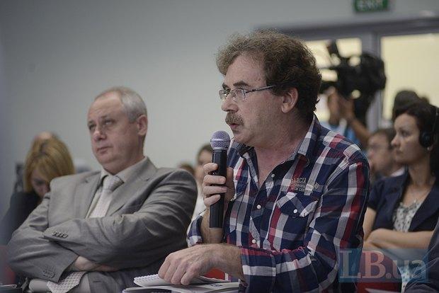 Владимир Чемерис, член правления Украинского Хельсинского союза, правозащитник