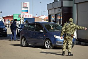 РНБО та ДПСУ: російські прикордонники розстріляли автомобіль з бойовиками