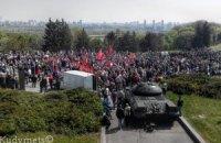 Оппоблок подал заявку на митинг 20 тыс. человек 9 мая в Киеве