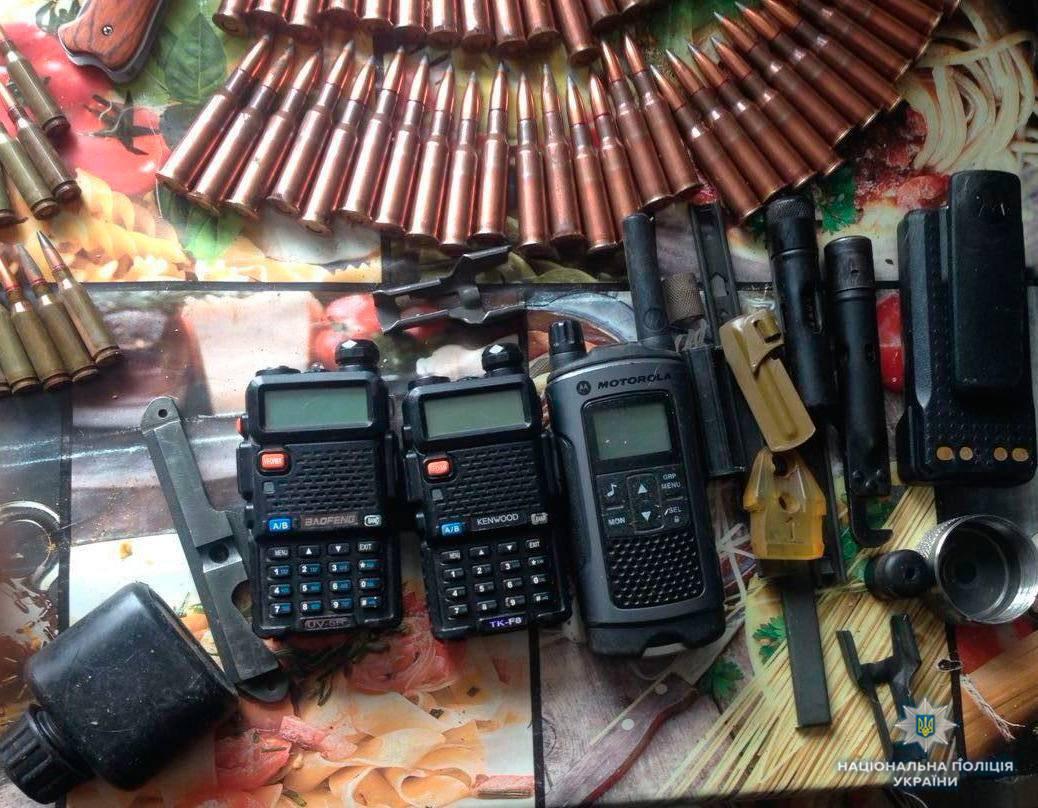 9 гранатометов, тротиловые шашки ипатроны. Под Одессой задержали владельца нелегального арсенала