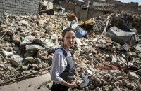 Посол доброй воли ООН Анджелина Джоли посетила разрушенный Мосул