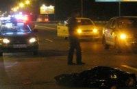 ДТП в Киеве: погиб пешеход, перебегавший дорогу в неположенном месте