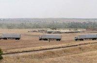 """Российские грузовики покинули """"Изварино"""" и направились в Луганск"""