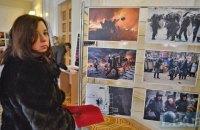 В Раде открылась выставка наиболее ярких фотографий из жизни протестующего Майдана