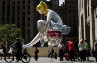 Новая скульптура Джеффа Кунса в Нью-Йорке может быть плагиатом статуэтки украинской художницы