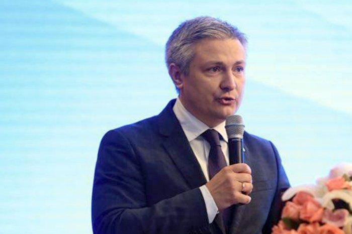 Генеральный Консул Украины в Шанхае Дмитрий Пономаренко