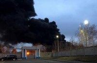 У російському Красноярську горить завод з виробництва балістичних ракет