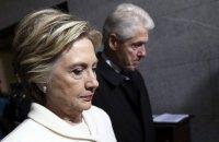 Трамп запропонував розслідувати зв'язки сім'ї Клінтон з Росією