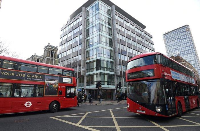 Главный офис Cambridge Analytica в Лондоне