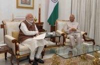 Президент Индии назначил Нарендру Моди премьер-министром на второй срок