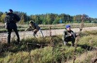 Гвардійці та прикордонники проводять на кордоні з Білоруссю спільну операцію