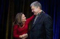 Порошенко зустрівся із заступницею прем'єра Канади Фріланд