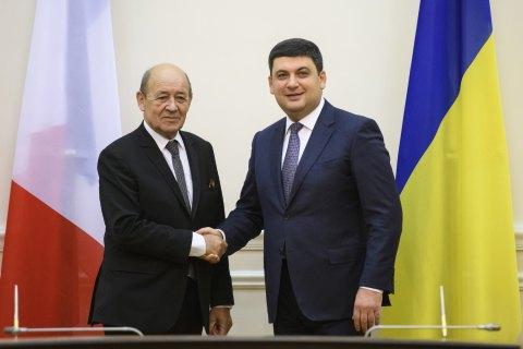 Гройсман: Україна і Франція можуть збільшити товарообіг до $3 млрд