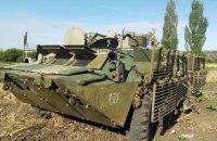 У Росії на навчаннях морський піхотинець потонув разом з БТР