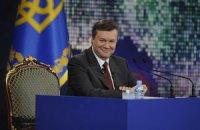 Янукович завтракает с представителями деловых кругов США
