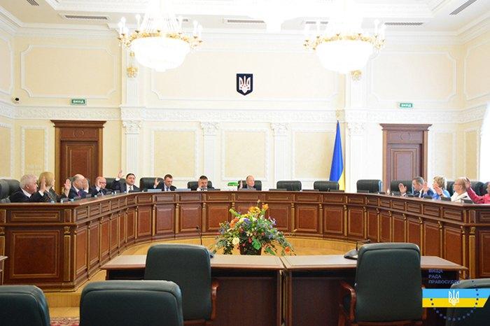 ЗасіданняВищої ради правосуддя 2 травня 2019
