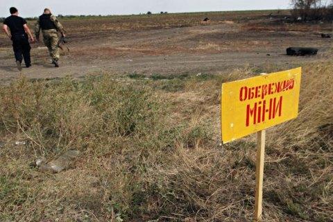 С начала войны Донбассе от мин погибло 300 гражданских, из них 27 детей