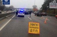 На автодорозі Київ - Одеса сталося ДТП за участю восьми автівок