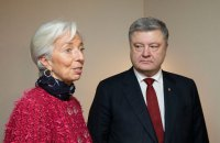Порошенко в Давосе проведет заседание Нацинвестсовета с участием главы МВФ